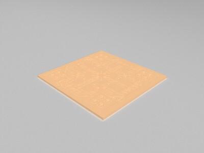 飞行棋-3d打印模型
