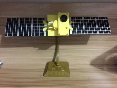 墨子号-3d打印模型