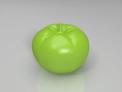 西红柿模型-3d打印模型