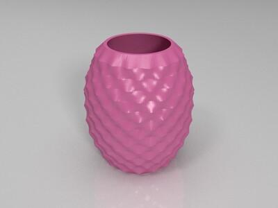 菠萝模型-3d打印模型