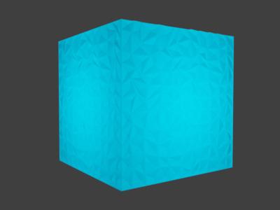 立方体模型,可做灯具,可定制-3d打印模型