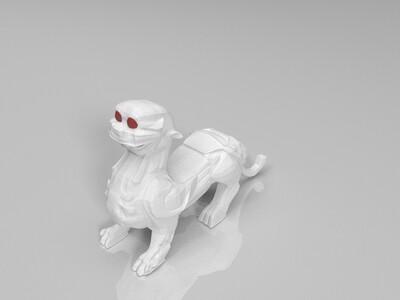 神兽-3d打印模型