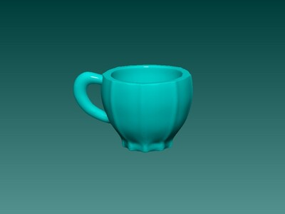 小水杯  原创-3d打印模型