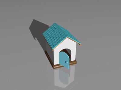 宠物屋-3d打印模型