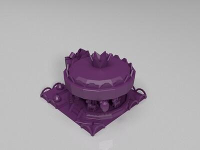 旋转木马-3d打印模型