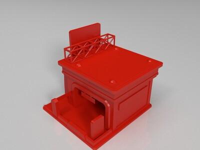 停车场-3d打印模型