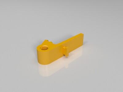 【改进版】折叠三角手机支架 -3d打印模型