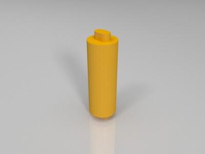 打印机芯轴-3d打印模型