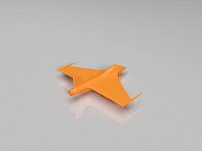 喷气机-3d打印模型