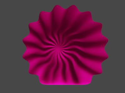 贝壳灯罩,可定制-3d打印模型