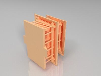 古楼-3d打印模型