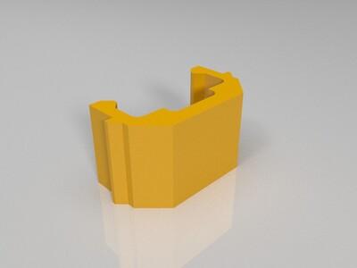 创想三维 Ender-3S 液晶屏排线卡 电源线卡-3d打印模型