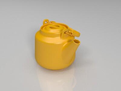 水壶-3d打印模型