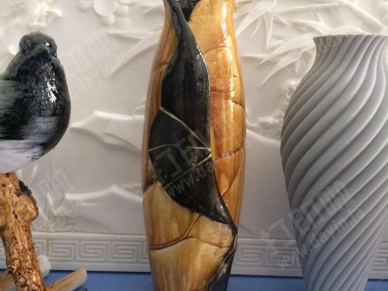 荷叶花瓶-3d打印模型
