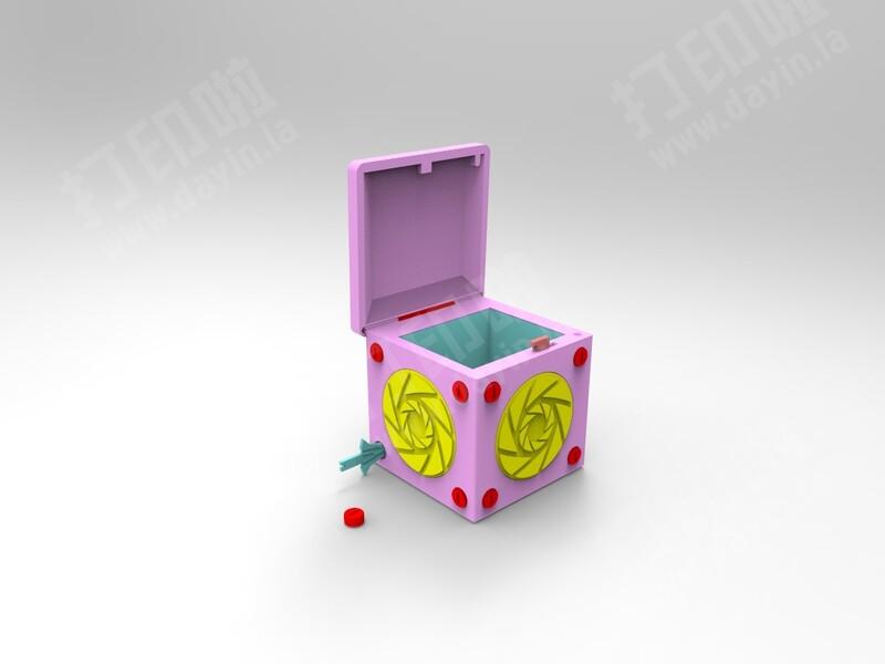 原创机关盒(亦可)-3d打印模型