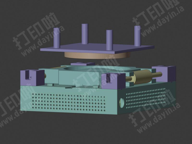 磁悬浮摆件,不可商用,欢迎定制-3d打印模型