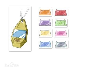 数码宝贝二----徽章项链-3d打印模型