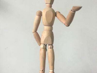美术活动关节人偶-3d打印模型