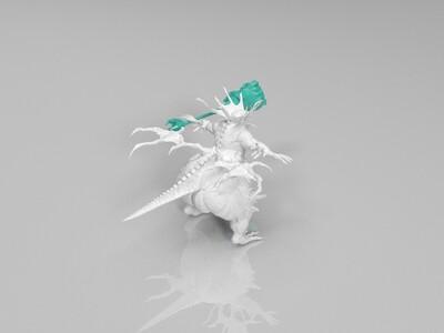 黑暗之魂BOOS之一-3d打印模型