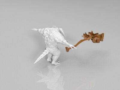 黑暗之魂BOOS之二-3d打印模型