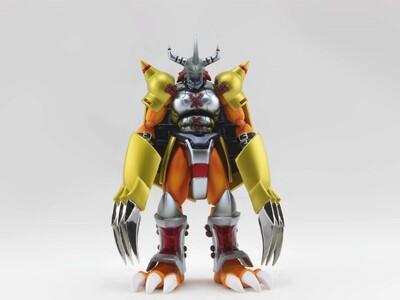 数码宝贝--战斗暴龙兽-3d打印模型