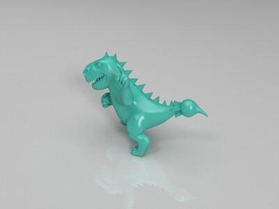 小恐龙-3d打印模型