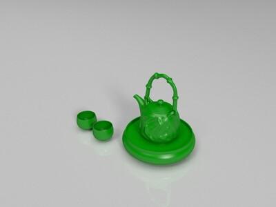 茶具-3d打印模型