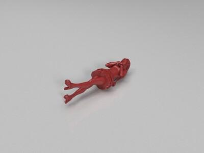 美女模型-3d打印模型