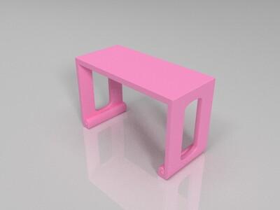 中式案桌-3d打印模型
