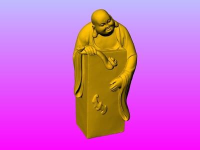 弥勒印章-3d打印模型