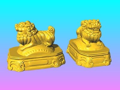神兽麒麟摆件 2-3d打印模型