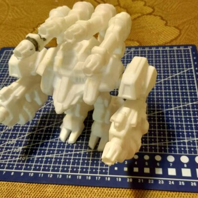 星际争霸-雷神机甲-3d打印模型