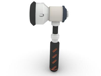 托比昂锤子 守望先锋-3d打印模型