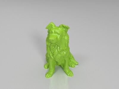 边境牧羊犬-3d打印模型