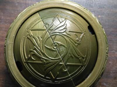 雕花维纳斯罐子-3d打印模型