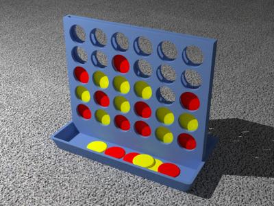 立体四子棋-3d打印模型