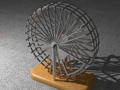 仓鼠跑道-3d打印模型
