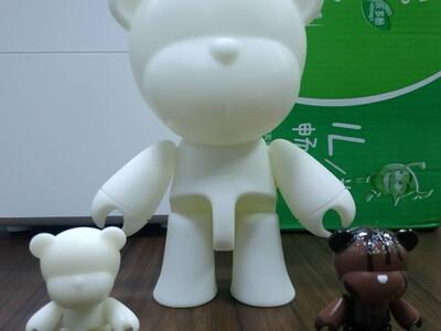 可爱小熊模型3D扫描打印建模设计-3d打印模型