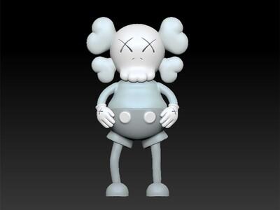 kaws卡通-3d打印模型