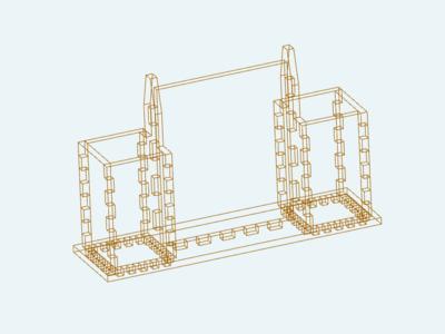 工具架-3d打印模型