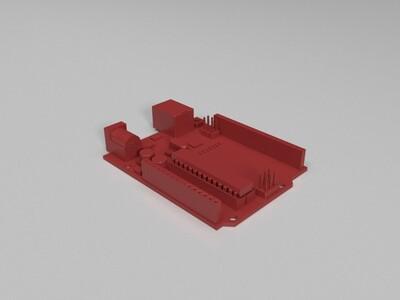 arduino uno r3-3d打印模型