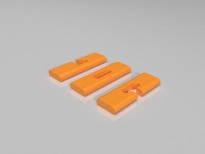 三通鲁班锁-3d打印模型