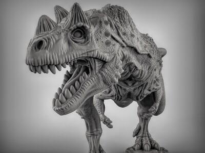 角鼻龙-3d打印模型