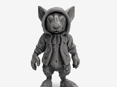 小鼠男-3d打印模型
