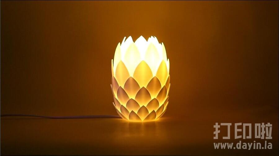 松果灯-3d打印模型