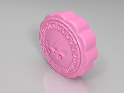 皮卡丘月饼2-3d打印模型