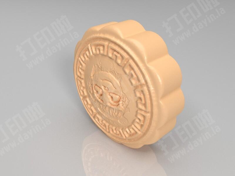 哪咤月饼-3d打印模型