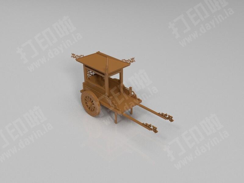 马车-3d打印模型