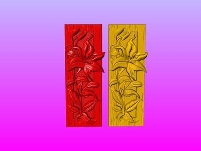 西洋花雕艺术1-3d打印模型