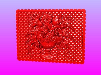 西洋花雕艺术2-3d打印模型